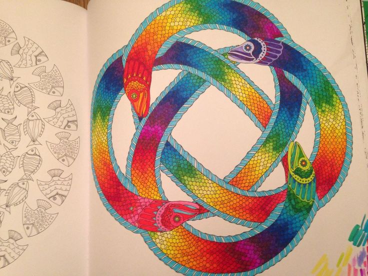 17 Best Images About Coloring Books Colored On Pinterest
