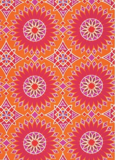 Trina Turk print for floor pillows...yes it's outdoor fabric.: Outdoor Fabric, Mandala