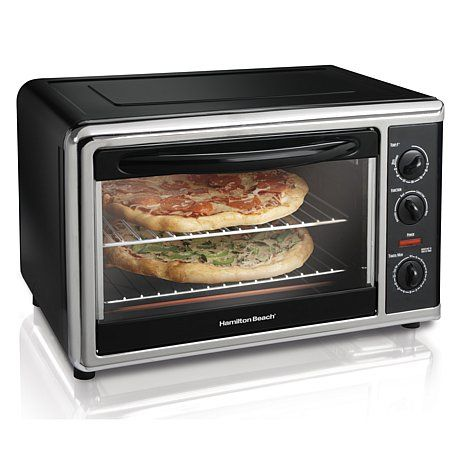 Shop Hamilton Beach Countertop Oven with Convection and Rotisserie Functions…