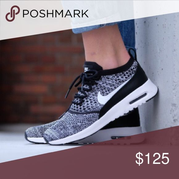 Nike Air Max Thea Ultra FK New women's Nike Air Max Thea Ultra Flyknit in black/white. Awesome Theas & come in full boxes. *actual pics to come Nike Shoes Athletic Shoes