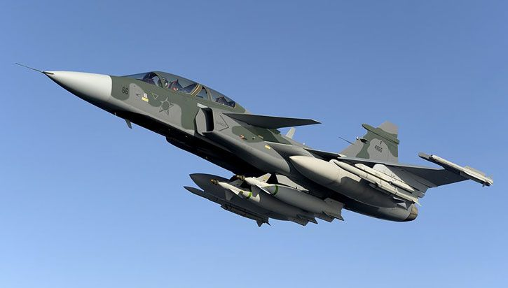 Brazil signs US$5 billion contract for 36 Swedish Gripen NG fighter jets | Defense Update: