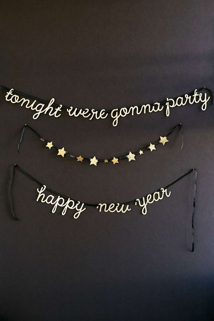 Meri Meri New Year's Party Garland