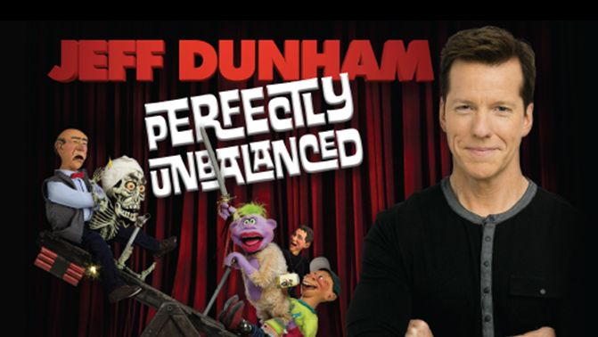 BELOW FACE VALUE JEFF DUNHAM TICKETS! Don't miss JEFF DUNHAM at the Centurylink Center in Omaha on Friday, April 22nd at 8:00 p.m. Click this pin to order your Lower Bowl & Floor tickets starting at BELOW FACE VALUE for JEFF DUNHAM's Perfectly Unbalanced Show from TicketExpress.com. Your tickets to see JEFF DUNHAM are waiting for you right now at TicketExpress.com! See ya at the show!