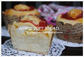 KRISTA MOCAF KITCHEN: Soft Bread (Vivian Pang Recipe) - Not Gluten Free