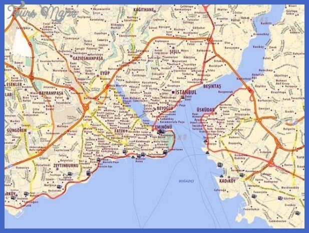 ISTANBUL MAP - http://toursmaps.com/istanbul-map.html