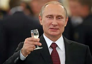 Vladimir Putin  Estimated worth 70 billion (dollars?)   Why does he use at least half of his ill-gotten gains for the benefit of the Russian people? Poisonous viper.
