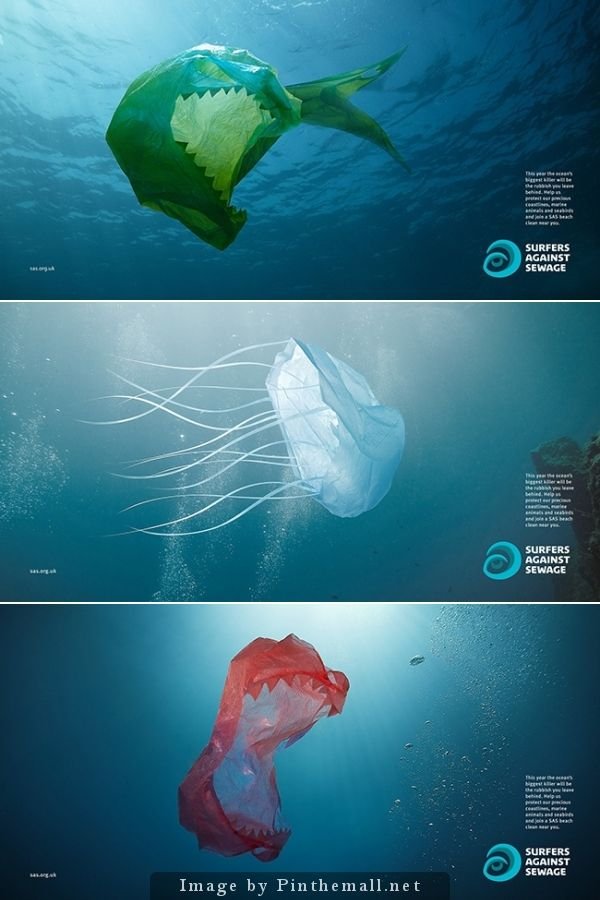 [Inspired/Stuff I Wish I Made] - I was inspired by this ad created to showcase Surfers Against Sewage. It does a good job visually and is clever to show how real pollution can be so harmful.