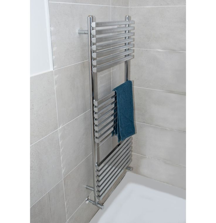 The Towelrads Oxfordshire Towel Rail is a simple yet elegant design incorporating both tubular and square bars, and is suitable for any central heating system. It is available in finishes of Anthracite, Chrome and White. Also available as a dual fuel option for summer heating when your central heating is turned off. 10 year guarantee on the towel rail, 2 year guarantee on dual fuel heating element if chosen. Prices from £141.06!