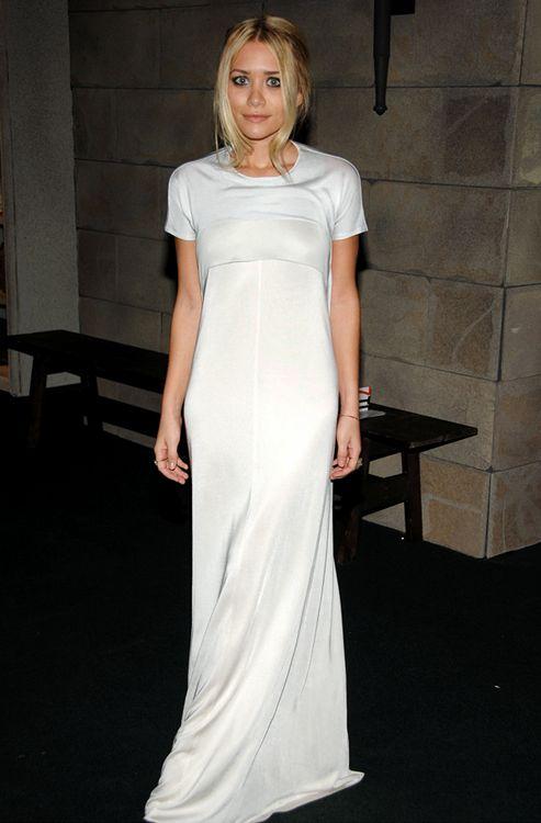 Olsen twin x all white