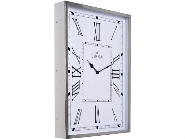 The silver box frame wall clock is part of our range of elegant timepieces, ideal for adding style to your wall. If you like the look of this silver oblong wall clock you might also want to take a look at these other items, similar in style to the traditional wall clock shown...
