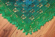 Butterfly Stitch Prayer Shawl ~ free pattern ᛡ
