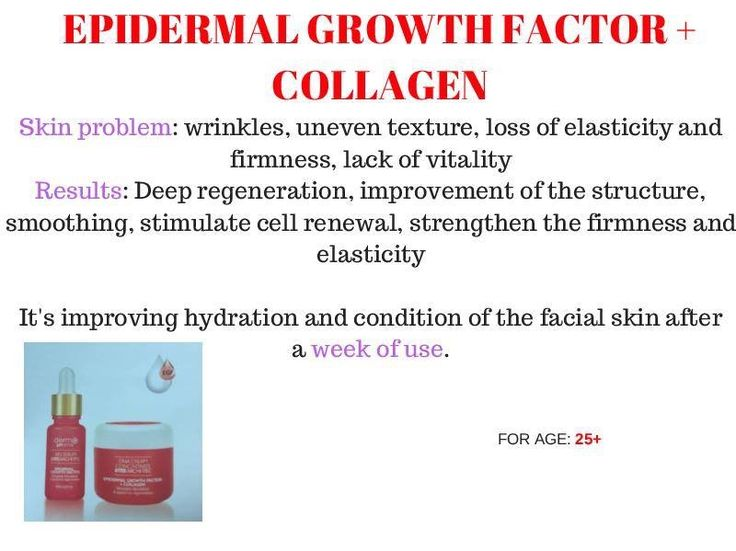 Epidermal Growth Factor + Collagen
