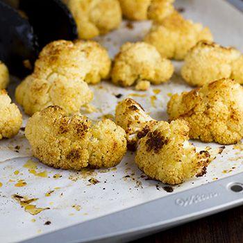 "Roasted Cauliflower ""Popcorn"" - something special happens when you roast cauliflower, it starts to taste like popcorn!   ~From CenterCutCook"