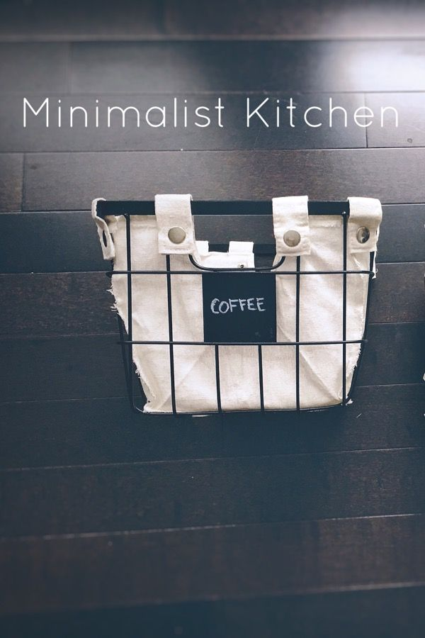 Minimalist Kitchen - Art as the Anchor: Wonder how to start decluttering your kitchen? Follow along on this blog post!