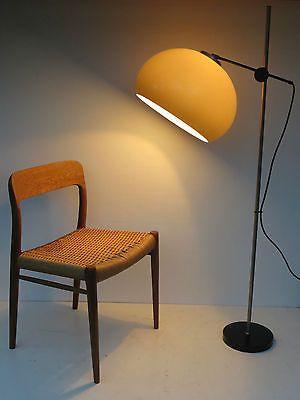 60er 70er Jahre Designer Lampe Stehlampe Wohnzimmerlampe Staff Eames Panton