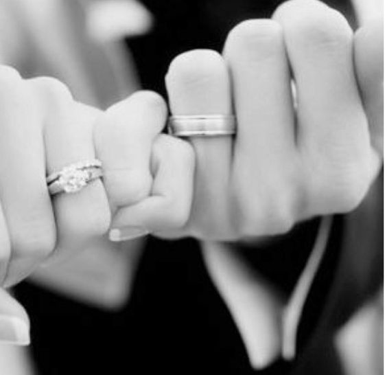 I pinky promise to love you, honor you, and cherish you forever...
