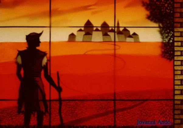 THE PROGIGAL SON~放蕩息子の帰還(影絵画)アップ。ジョヴァンニ安東美術館より。