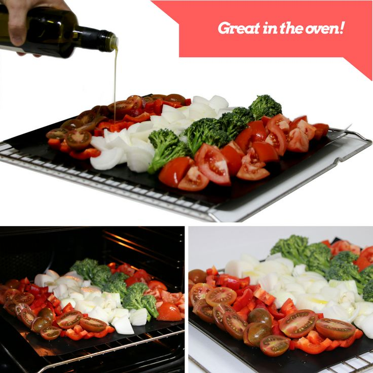grill mat great in the oven