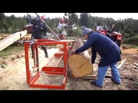 Aserradero portatil para motosierras - Portable Chain Saw Mill - YouTube