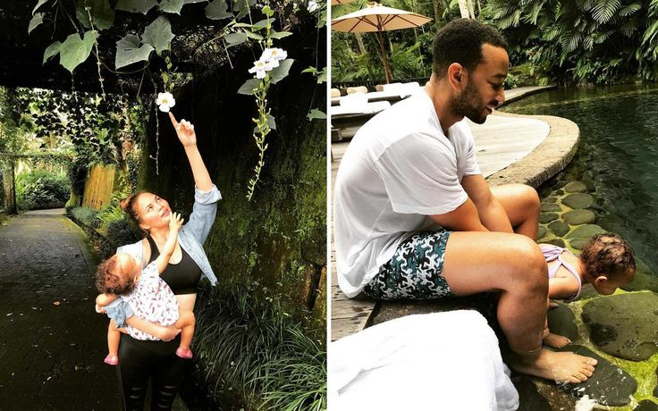 Chrissy Teigen and John Legend Went on a Wellness Retreat to Bali | Chrissy Teigen and John Legend, along with their 15-month-old daughter, Luna, just returned from a wellness vacation in Bali.The family stayed at the COMO Shambhala Estate, a health retreat known...