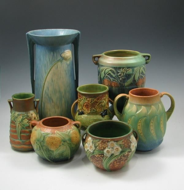 Roseville Pottery - My sister Linda would like this