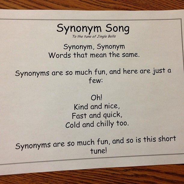 107 best vocab synonyms antonyms images on pinterest english i had a small window of free time today with one of my kiddos absent im also getting a pretty killer cold and im a little punchy stopboris Gallery
