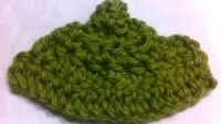Double Crochet Two Together Decrease dc2tog