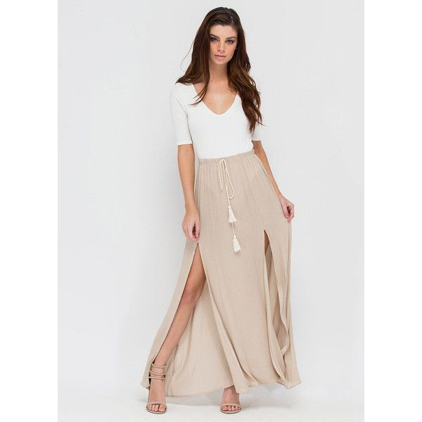 25  best ideas about Tan maxi skirts on Pinterest | Tan skirt ...