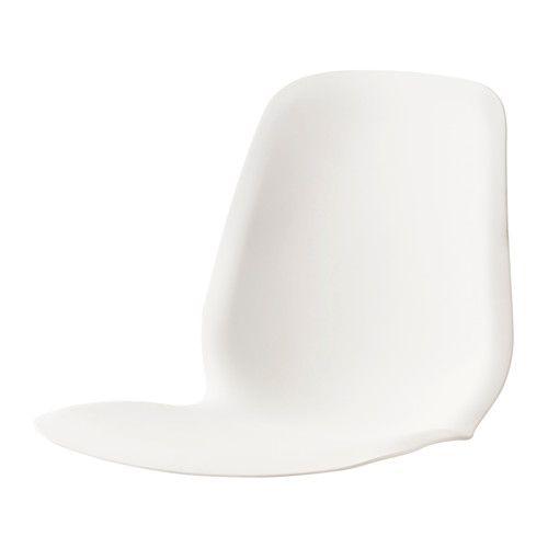 Leifarne Coque D Assise Blanc Ikea Dossier Et Chaise