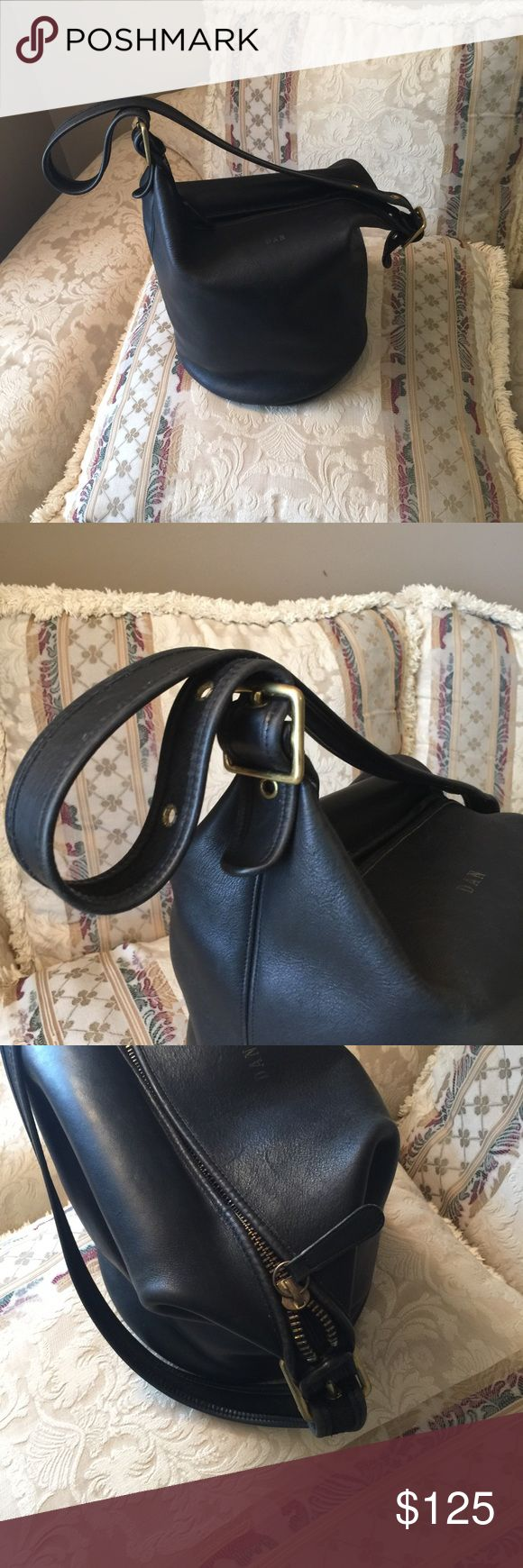 Coach Duffle bag VINTAGE Coach Duffle bag AUTHENTIC Vintage in great condition...clean inside and out, no dust bag or tag, circa 1993😀 gold initials can be buffed away! Initials are faded. Coach Bags Shoulder Bags