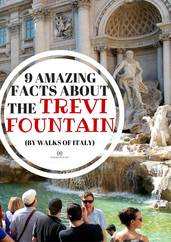 The Trevi Fountain is one of Rome's most well-known monuments. But here is what…