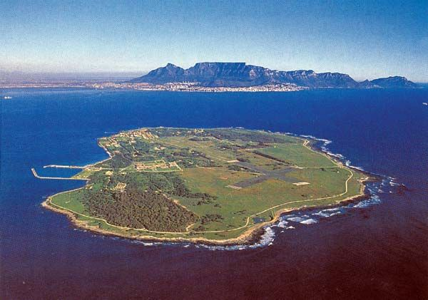 Robben Island, South Africa. Where Mandela spent 18 years of his sentence as a political prisoner