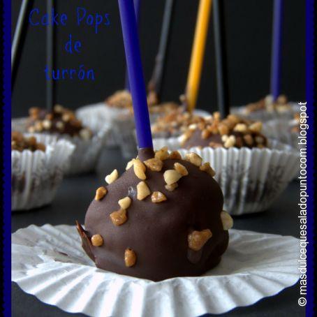 Cake Pops de turrón