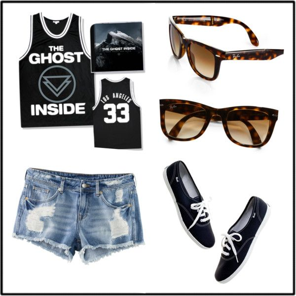 """""""Fun Daytime Outfit #1"""" by katie-24 on Polyvore"""