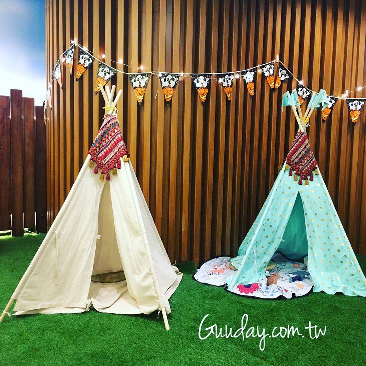 小朋友的秘密基地 Secret hide out for kids 😜  #秘密基地 #hideout #兒童 #children #帳篷 #tents #萬聖節 #halloween #凱撒 #caesarpark #guuday #墾丁 #kenting