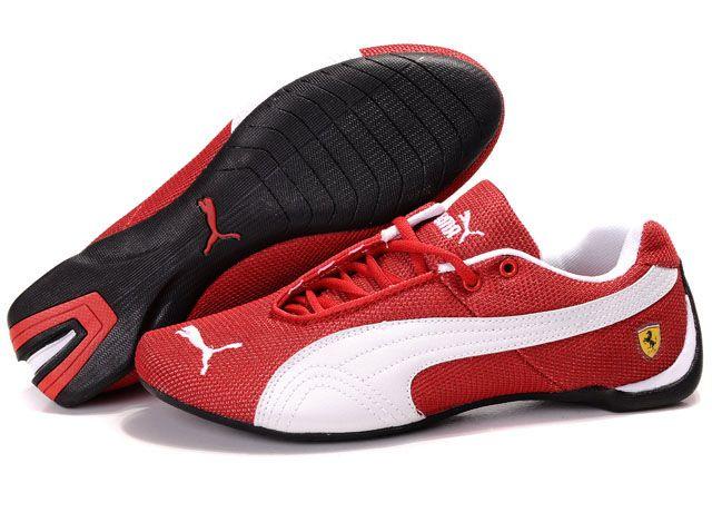 Puma Drift Cat Shoes 105 Red White