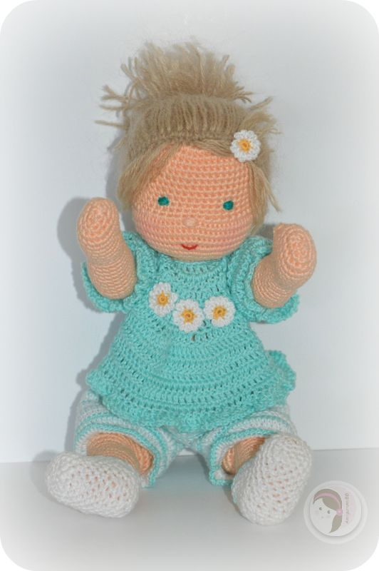 Crochet Knit Stitch Waldorf : by AmigurumiBB - Free crochet pattern CRAFTS - Crochet and Knitting ...