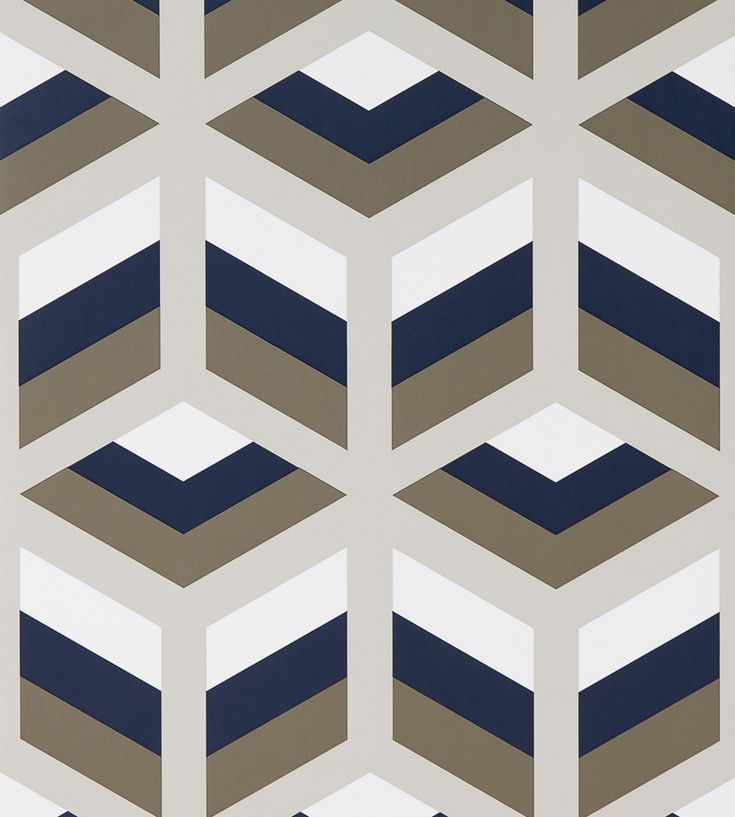 Contemporary Geometrics | Xabi Wallpaper by Gaston y Daniela | Jane Clayton