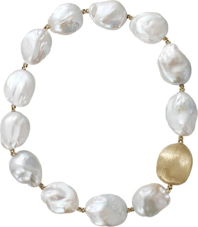 YVEL Baroque Freshwater Pearl Necklace
