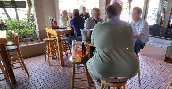Plumbers Crack at the Local Hooters Restaurant