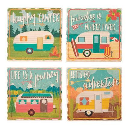 Happy Campers Coasters
