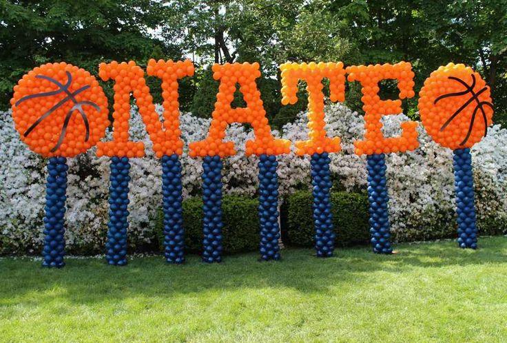 Skulpturnamen in Luftballons · Party- & Event-Dekor
