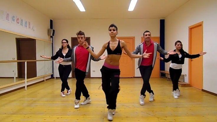 "Joey&Rina "" Zoom Bacumbia ""  Impara i Passi / Balli di Gruppo 2013"
