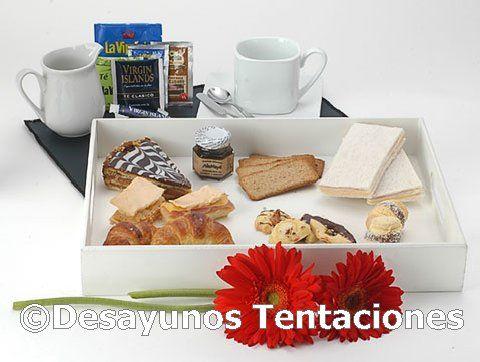 13 best images about desayunos on pinterest villas - Regala un desayuno a domicilio ...