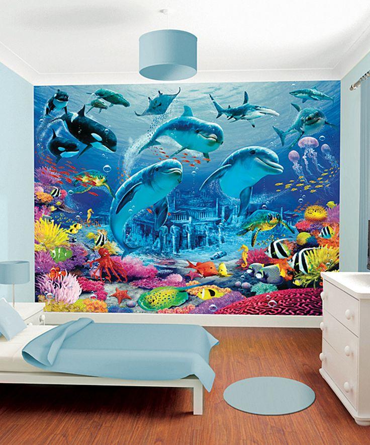 Love this Brewster Home Fashions Sea Adventure Mural by Brewster Home Fashions on #zulily! #zulilyfinds