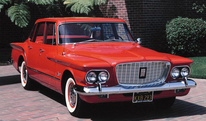1960 Plymouth Valiant (photographed by Bud Juneau)