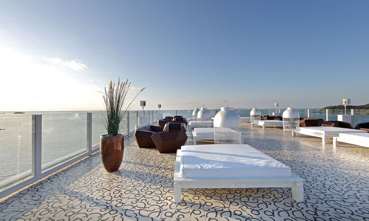 Roof Top Terrace · Ushuaia Beach Hotel