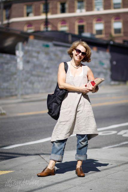 it's my darlin' seattle street style: Rebecca Evans | Rough Linens