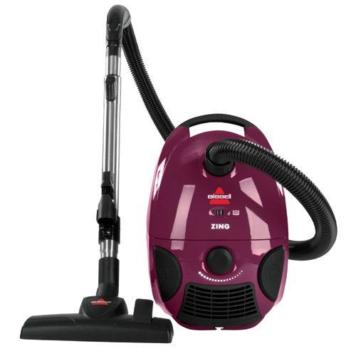 BISSELL Zing Bagged Canister Vacuum, Purple, 4122 - Corde... You won't believe the PRICE!!!!