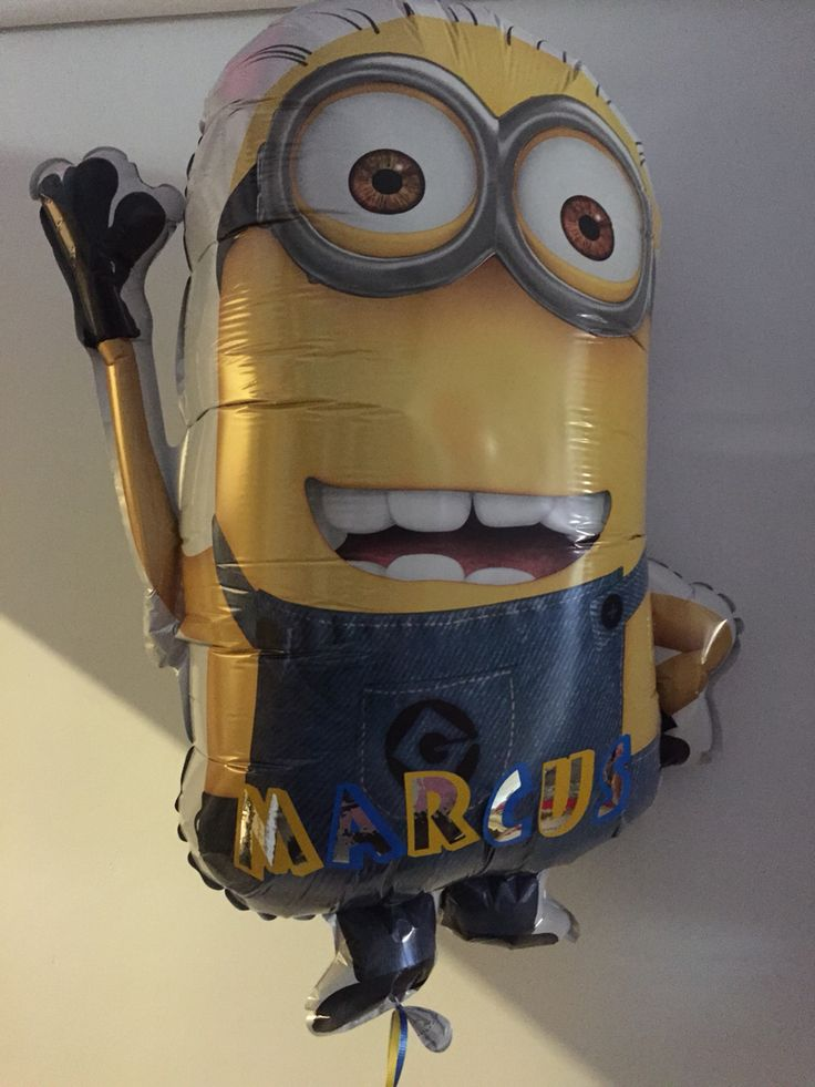 Arrive at your next party with a personalised minion available at celebrations   www.celebrationsnsw.com #partyshop  #minion #balloon